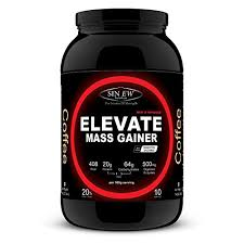Sinew Nutrition Elevate Mass Gainer With Digestive Enzymes 1 Kg Coffee Flavour