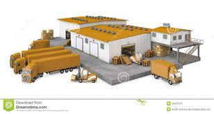Warehouse Clip Art 153607