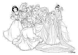 Coloriage Princesse Jasmine Coloriage De Princesse À Imprimer