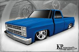 Busted Knuckles - 1986 Chevy C10 - Truckin Magazine