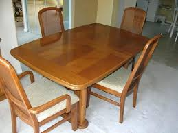 Cool Used Dining Room Table Ethan Allen And Chair Of Nifty Discount Furniture With Plan Set Craigslist Near Me Ebay Hutch Buffet