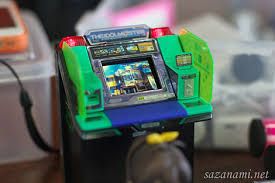 gamesetwatch awesome idolm ster mini arcade cabinet ipod nano mod