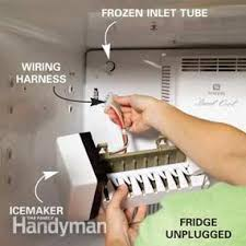 Kenmore Ice Maker Leaking Water On Floor by How To Repair A Refrigerator Family Handyman