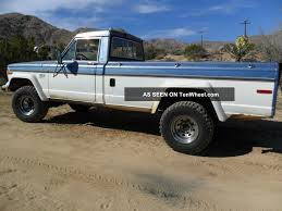 100 4 Door Jeep Truck Four 1982 J10 Rust Base Standard Cab Pickup