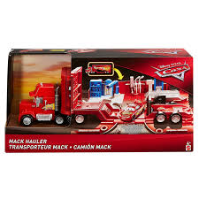 Disney/Pixar Cars Large Scale Mack Hauler Truck By Disney - Shop ... Dizdudecom Disney Pixar Cars Mack Truck Hauler With 10 Die Cast Disneypixar Large Scale Free Delivery 3 Jocko Flocko Mack Truck Trailer Jada Diecast 124 Travelling The Warehouse 2 Toys Inspirational Wood Collection Dan The Fan Playset Amazoncom And Transporter Toys Games Toyworld Carry Case Semi 2013 Deluxe Mattel Mac Rusteze Lightning Mcqueen