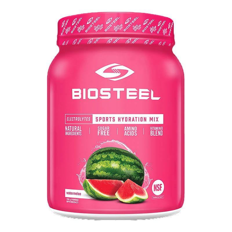 Biosteel High Performance Sports Hydration - Sugar Free Drink Mix, Watermelon Flavor, 100 Servings