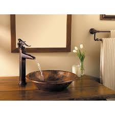 Antique Bathroom Decorating Ideas by Bathroom Single Hole Vessel Faucet In Oil Rubbed Bronze For