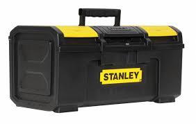 STANLEY Plastic Portable Tool Box, 10-1/4
