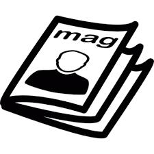 Magazine Commerce Icons Photo PNG Images