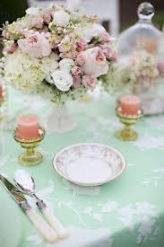 Best 23 Table decor Mint ideas on Pinterest
