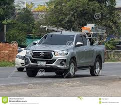 100 Hilux Truck Private Pickup Car New Toyota Revo Rocco Editorial Stock