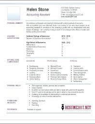 Cpa Resume Samples Account Assistant Example Accounting Singapore