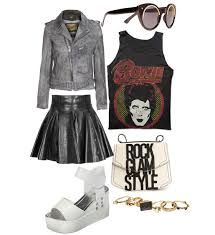 Glam Rock Clothing Ideas For Women 1