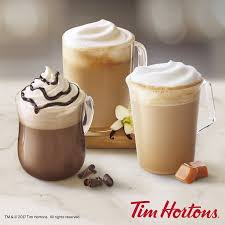 Pumpkin Spice Latte Mms by Tim Hortons U S Unveils New Handcrafted Espresso Menu Business