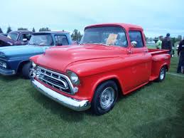 File:1957 Chevrolet Truck (7461912102).jpg - Wikimedia Commons 1957 Chevrolet Pick Up Truck 3100 Pickup Snow White Street The Grand Creative Rides For Sale 98011 Mcg A Pastakingly Restored Is On Display At Rk Motors Near O Fallon Illinois 62269 Cameo 283 V8 4 Bbl Fourspeed Youtube 2000515 Hemmings Motor News Flatbed Truck Item Da5535 Sold May 10 Ve Oneofakind With 650 Hp Heads To Auction Bogis Garage Cadillac Michigan 49601