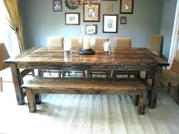 Farmhouse Style Table Dining
