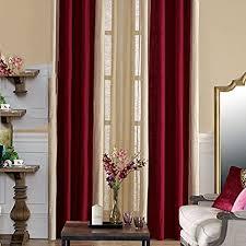 ctsj elegantes kastanienbraun gardinen wohnzimmer esszimmer