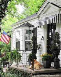 Windows Awning : Exterior Ideas Decorations Impressive Wood ... Awning Ideas Decorations Impressive Exterior Diy Wood Window Windows Gable Verdant Passages Front Door Hang On Pinterest A Side View Of