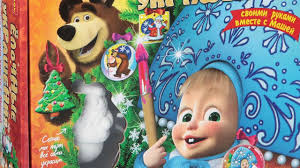 Thomas Kinkade Christmas Tree Wonderland Express by Masha And The Bear Christmas Tree Toys Decorate It Yourself
