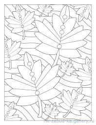 Coloring Pages Books Tree Leaves Colour Book To Color Vintage Printable Colouring Sheets