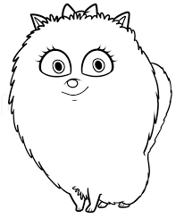 Pumpkin Patch Coloring Pages Free Printable by The Secret Life Of Pets Coloring Pages Getcoloringpages Com