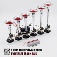 OKC 6 IRON TRUMPETS WITH MELODY AIR HORN 24V FOR TRUCK ,BUS ... Fisa Musical X5 Air Horns Suits Carvantruck Col Bogey River Wolo Philly Express Horn Free Shipping On All Train Model Hk2 Dual Truck Kit Kleinn By Grover Emergency Marine Amazoncom Super Loud Trumpet 140db Viair Horn 12 And 24 Volt 4 Trumpet Air Loudest Kleinn 159db 125 The Dominator Stainless Steel Horns Of Texas 21 Emergency Youtube Howard County Fire Rescue Engine 61 Responding Q Install Docs Tech 12v Truck