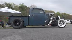 100 Rat Rod Truck 51 Ford Hot Pickup Paradise Dragstrip YouTube