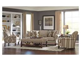 Craftmaster Sofa In Emotion Beige by Craftmaster Accent Chairs Wing Back Chair With Traditional Turned