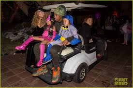 Busta Rhymes Halloween Trick Or Treat by Mariah Carey Celebrates Halloween With Her Superhero Kids Photo