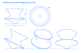 Magis Spun Chair Dimensions & Drawings | Dimensions.Guide Modern Classic Plywood Zane Lounge Chair Ottoman With Spinal Sled Chairs Products Gillian Tufted Nordisk Helinox Nordiskeu Amazoncom Ckp Fashion Bar Front Desk Vitra Eames Cherry Tequila Sofa A Guide To Table Height Seat Heights Magis Spun Dimeions Drawings Dimeionsguide