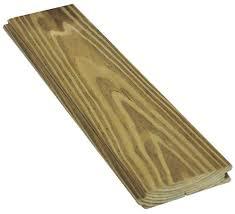 1 x 4 treated pine porch flooring at menards