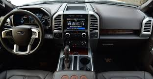100 Ford Truck Center Console F150 King Ranch Interior Combines Luxury Utility WardsAuto