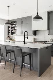 White Kitchen Idea 32 Gray And White Kitchen Classic Trendy Kitchen Ideas