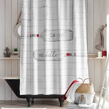 La Vie Est Belle Shower Curtain Best Home Fashion Thermal Insulated Blackout Curtains Back Tab Rod Pocket Beige 52w X 84l Set Of 2 Panels Shop Farmhouse Style Decor Point Valances Pretty Windows Discount Country Window Toppers Top Swags Galore Aurora Mix Match Tulle Sheer With Attached Valance And 4piece Curtain Panel Pair Post Taged Outlet Store Lined Scalloped Custom Treatments Draperies Page 1 Primitive Rustic Quilts Rugs Drapes More From The Lagute Snaphook Truecolor Hookless Shower Gray