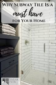 Subway Tile Inspiration | Bathroom Design | Bathroom Ideas ... Mosaic Tiles Bathroom Ideas Grey Contemporary Tile Subway Wall And White Tile Bathroom Ideas Pinterest Subway Interior Lamaisongourmet Glass 6x12 Backsplash Images Of Showers Our Best Better Homes Gardens Unique Pattern Design White Kitchen For Natural And Classic Look The New Sportntalks Home Cool 46 Small Light Gray Color With Elegant Using Wooden Floor 30 Beautiful Designs