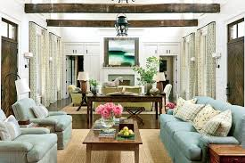 plantation style southern estate traditional living room