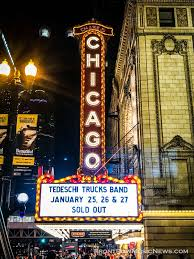 Tedeschi Trucks Band Three Sold Out Nights At The Chicago Theatre ... Tedeschi Trucks Band Three Sold Out Nights At The Chicago Theatre Phish Tour Continues In Las Vegas Night 2 Setlist Recap Utter Welcomes Blake Mills Carey Frank For Wheels Of Soul 2017 Front Row Music News Gallery Review Live Jimmy Herring Doyle Bramhall Ii Tedeschi Trucks Band Infinity Hall Live