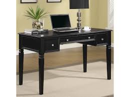 Coaster Contemporary Computer Desk by Coaster Classic Table Desk With Keyboard Drawer And Power Outlet