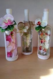 Decorative Wine Bottles Crafts by 25 Unique Decorating Bottles Ideas On Pinterest Christmas Wine