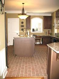 Red Floor Tiles For Kitchen Medium Size