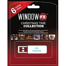 Christmas Tree Storage Bin Home Depot by 2 In Window Fx Christmas Time Usb Collection With 6 Videos 75603