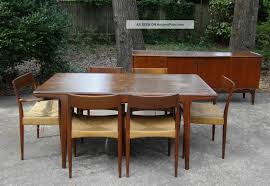 Danish Modern Dining Set Teak Vintage Mogens Kold Chair Table ... Vintage Danish Modern Ding Chairs China Outdoor Import Teak Wood Table And Chair Set Warm Nordic Balloon Lounge Chair Finnish Design Shop Fifties Wagner Lean Back Teak Amber Niels Mller Ding Table Model 15 Jl Moller Home Sejling Skabe Sideboard C1960 The Conran Six Arne Hovmand Olsen Room For Rosewood Sante Blog 1950s Of Designed By Hans By Mid Century Fniture Sofa Of 8