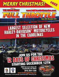 Spirit Halloween Fayetteville Nc 2015 by December 2015 Issue 209 By The Carolinas U0027 Full Throttle