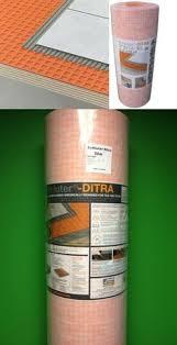 Ditra Xl Schluter Tile Underlayment by Flooring Underlayment 130118 Schluter Ditra Membrane Tile
