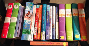 Blue Sky Bookshelf Top Ten Tuesday Authors I Own The Most Books From