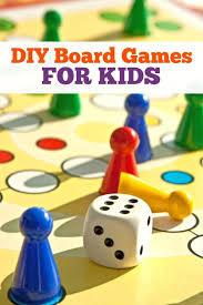 12 DIY Board Games For Kids