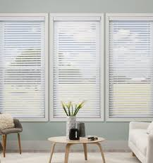 Kellie Clements Simply Chic 2 1 Faux Wood Blinds