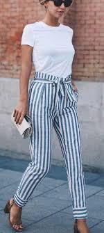 Summer Fashion T Shirt Stripes
