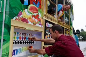 Business Q&A: Kona Ice Of South Aurora – The Denver Post Kona Ice Truck Stock Photo 309891690 Alamy Breaking Into The Snow Cone Business Local Cumberlinkcom Cajun Sisters Pinterest Island Flavor Of Sw Clovis Serves Up Shaved Ice At Local Allentown Area Getting Its Own Knersville Food Trucks In Nc A Fathers Bad Experience Cream Led Him To Start One Shaved In Austin Tx Hanfordsentinelcom Town Talk Sign Warmer Weather Is On Way Chain