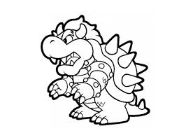 Awesome Mario Brothers Coloring Pages 69 For Your Books With